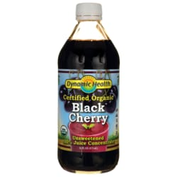 Dynamic HealthCertified Organic Black Cherry Unsweetened 100% Juice Concentrate