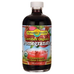 Dynamic HealthCertified Organic Pomegranate - Unsweetened JuiceConcentrate