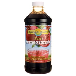 Dynamic HealthCertified Organic Pomegranate - Unsweetened Juice Concentrate