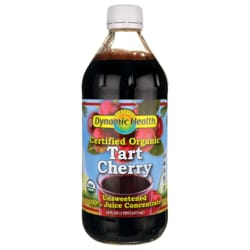 Dynamic HealthCertified Organic Tart Cherry - Unsweetened 100% Juice Concentrate
