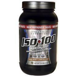 Dymatize NutritionISO 100 Hydrolyzed Whey Protein Isolate - Gourmet  Chocolate