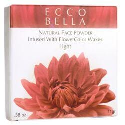 Ecco BellaNatural Face Powder Infused with FlowerColor Waxes - Light