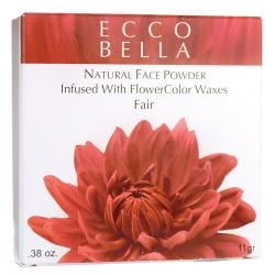 Ecco BellaNatural Face Powder Infused with FlowerColor Waxes - Fair