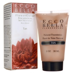 Ecco BellaFlowerColor Natural Foundation SPF 15 - Tan