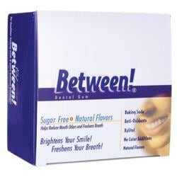 Eco-DentBetween! Dental Gum Sugar Free Cool Mint