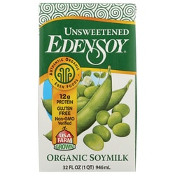 Eden Foods Organic Edensoy Unsweetened Soymilk