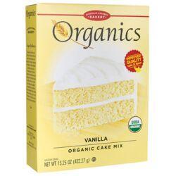 European Gourmet BakeryOrganics Cake Mix - Vanilla