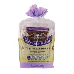 Ener-G FoodsSelect Cinnamon Raisin Deli-Style Bread