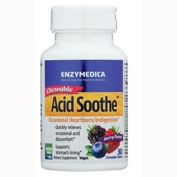 EnzymedicaChewable Acid Soothe - Berry Flavor