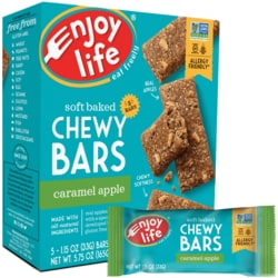 Enjoy LifeBaked Chewy Bars - Caramel Apple