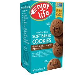 Enjoy LifeSoft Baked Cookies - Double Chocolate Brownie