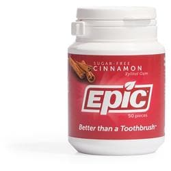 Epic DentalXylitol Sweetened Cinnamon Gum