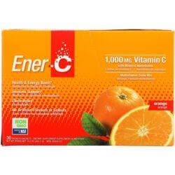 Ener-CVitamin C Effervescent Powdered Drink Mix - Orange