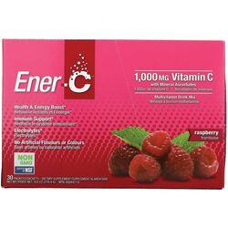 Ener-CVitamin C Effervescent Powdered Drink Mix - Raspberry