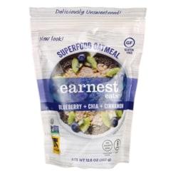 Earnest EatsHot & Fit Cereal - Superfood Blueberry Chia