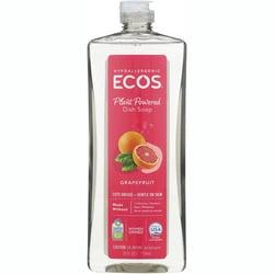 Earth Friendly Products ECOS Dishmate Dish Liquid - Grapefruit