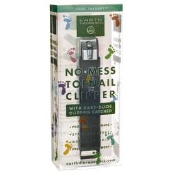 Earth TherapeuticsNo-Mess Toenail Clipper with Easy-Slide Clipping Catche