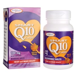 Enzymatic Therapy Vitaline Smart Q10 Maple Chewable