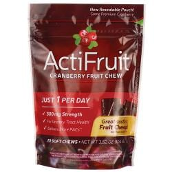 Enzymatic TherapyActiFruit Cranberry Fruit Chew