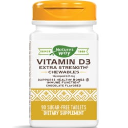 Enzymatic Therapy Vitamin D3 Chocolate Flavored