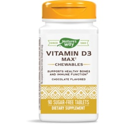 Enzymatic Therapy Vitamin D3 Chewables Chocolate Flavor