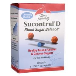 EuroPharmaTerry Naturally Sucontral D Blood Sugar Balance