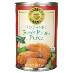 Farmer's MarketOrganic Sweet Potato Puree