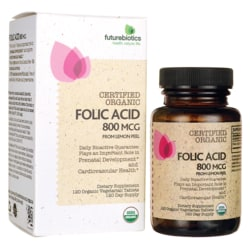 Futurebiotics Folic Acid Certified Organic
