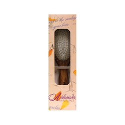 FuchsAmbassador Wood Oval Hairbrush w/ Steel Pins