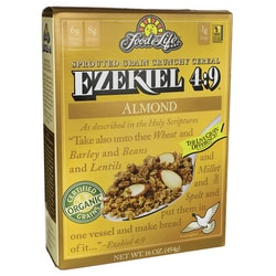 Food For LifeEzekiel 4:9 Sprouted Grain Crunchy Cereal - Almond