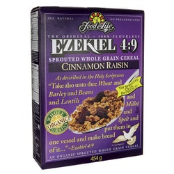 Food For LifeEzekiel 4:9 Sprouted Whole Grain Cereal - Cinnamon Raisin
