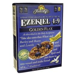 Food For LifeEzekiel 4:9 Sprouted Grain Crunchy Cereal - Golden Flax