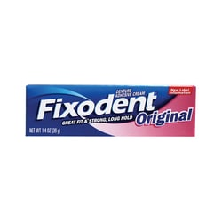 Fixodent Denture Adhesive Original Cream