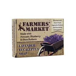 Farmers' Market Lavender Eucalyptus Soap