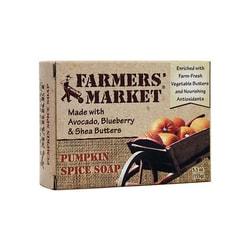 Farmers' Market Jabón de calabaza y especias