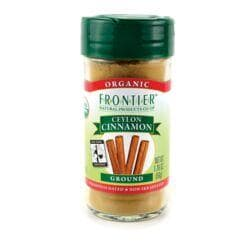 Frontier Natural Products Co-OpOrganic Ceylon Cinnamon Ground