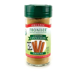 Frontier Natural Products Co-Op Organic Ceylon Cinnamon Ground