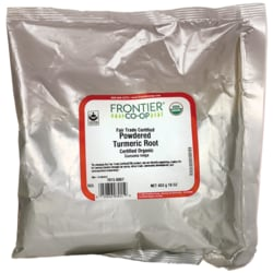 Frontier Natural Products Co-OpCertified Organic Powdered Turmeric Root