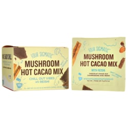 Four Sigma FoodsXOCO Blue Mushroom Hot Cacao Drink Mix - Sweet Cinnamon