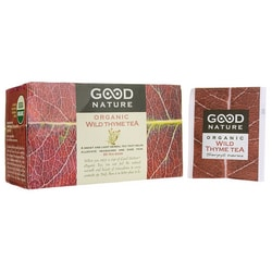 Good NatureWild Thyme Organic Tea
