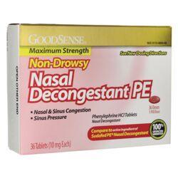 Good SenseNasal Decongestant PE Non-Drowsy