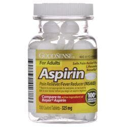 Good SenseAspirin For Adults