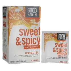 Good EarthSweet & Spicy Caffeine Free Herbal Tea