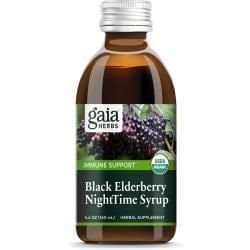 Gaia HerbsBlack Elderberry Night Time Syrup