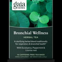 Gaia Herbs Bronchial Wellness Herbal Tea