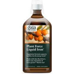 Gaia HerbsPlantForce Liquid Iron