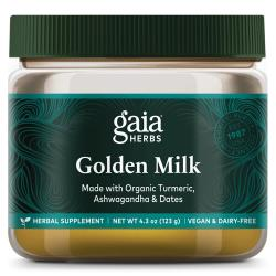 Gaia HerbsGolden Milk - Powdered Turmeric Supplement