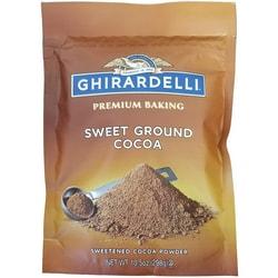 GhirardelliPremium Baking Cocoa--Sweet Ground Chocolate and Cocoa