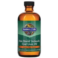 Garden of Life Olde World Icelandic Cod Liver Oil - Lemon Mint