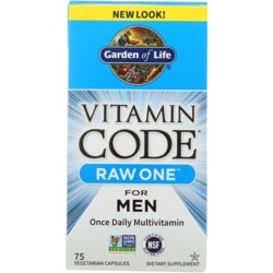Garden of Life Vitamin Code Raw One for Men